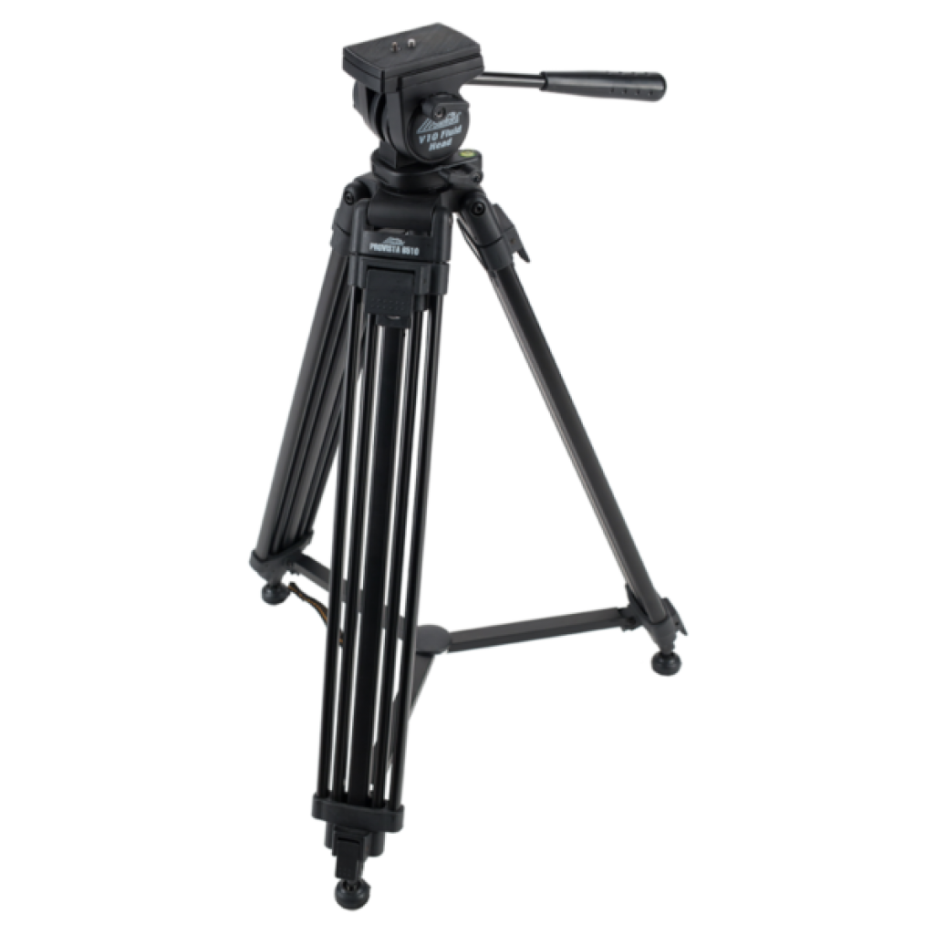 Low Capacity Fluid Tripod Head and Sticks