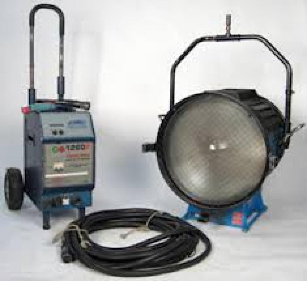 6000 Watt LTM HMI Fresnel w/Electronic Balast