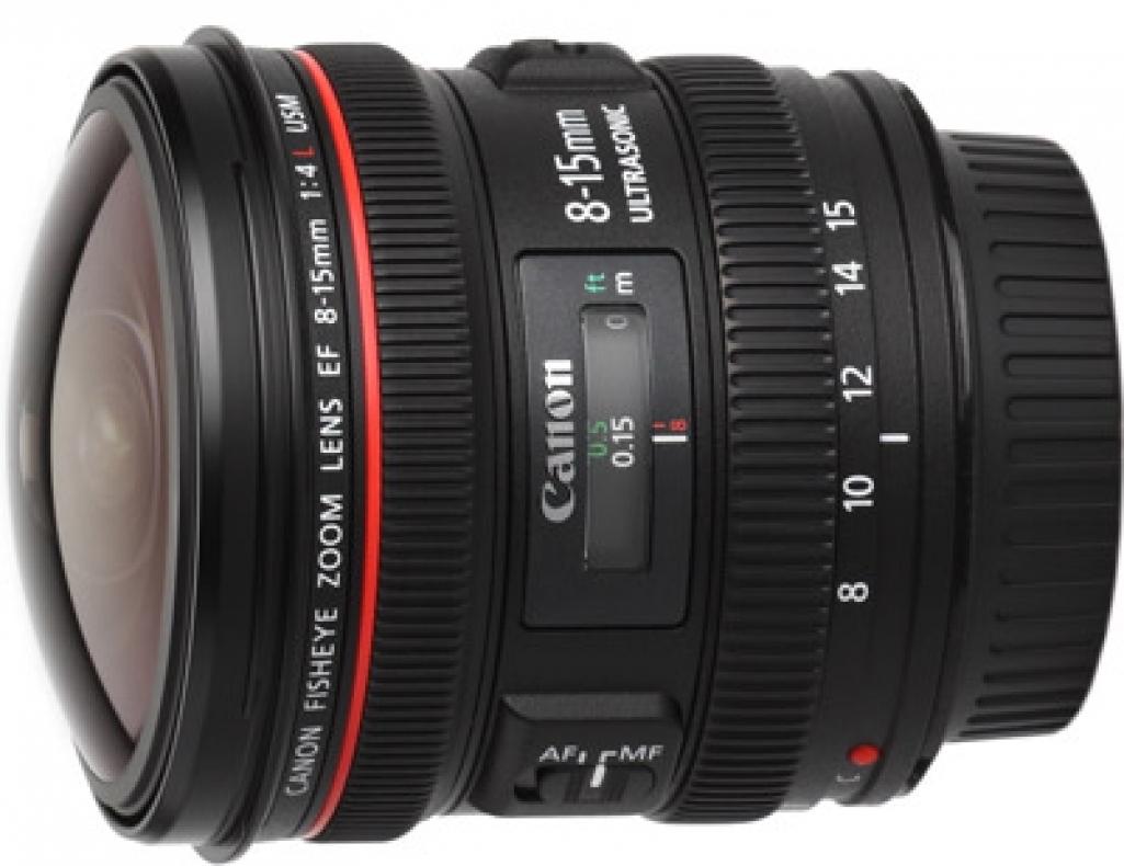 8-15mm Canon Fish Eye Zoom
