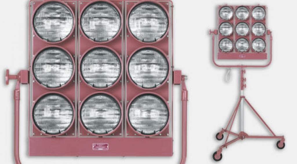 9000 Watt Nine-Light Maxi Brute