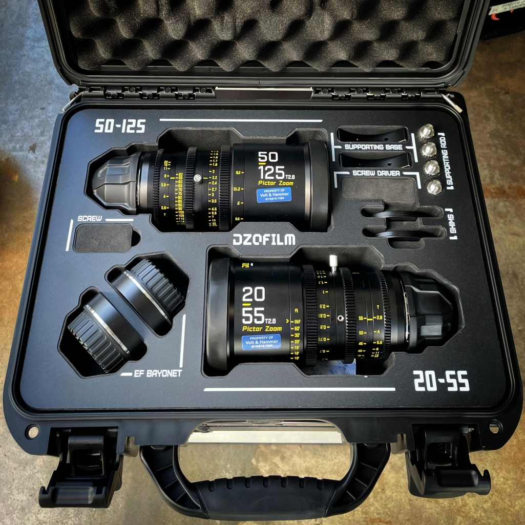 DZOFilm Pictor 20-55mm and 50-125mm T2.8
