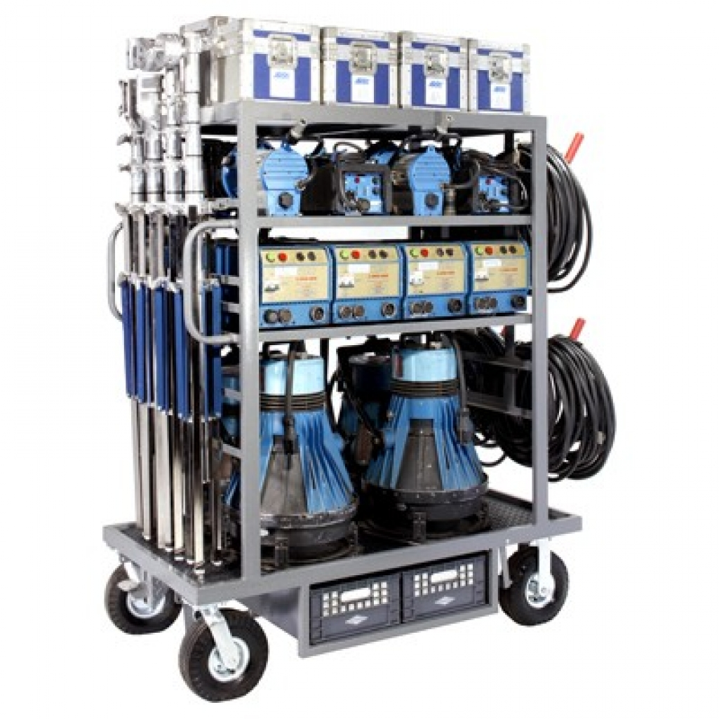 HMI Lighting Cart