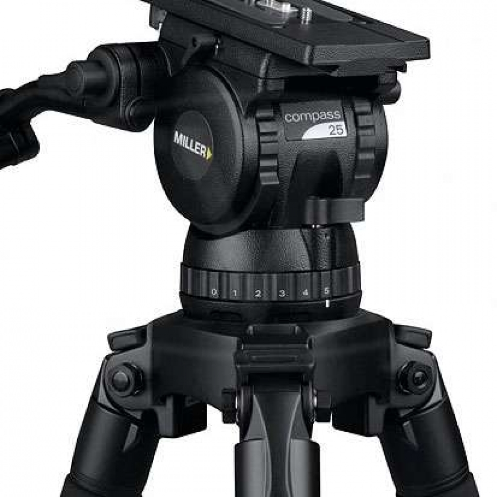 Medium Duty Fluid Tripod Head