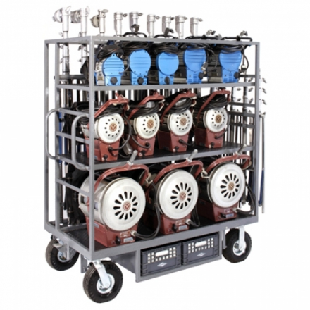 Tungsten Lighting Cart